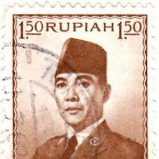 Sellos: 1953 - INDONESIA - SUKARNO - YVERT 64. Lote 115443919
