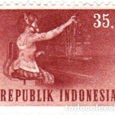 Sellos: 1964 - INDONESIA - TRANSPORTE Y COMUNICACIONES - TELEFONO - YVERT 388. Lote 115447935