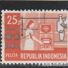 Sellos: INDONESIA 1969 - YVERT NRO. 578 - USADO. Lote 126646071
