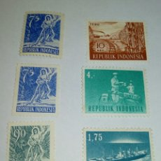 Sellos: SELLOS REPUBLICA INDONESIA. Lote 132911566