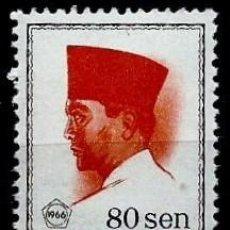 Sellos: INDONESIA SCOTT: 679-(1966) (PRESIDENTE SUKARNO) NUEVO. Lote 146950086