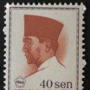Sellos: SELLO NUEVO CLÁSICO DE INDONESIA 40 SEN. Lote 155937400