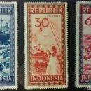 Sellos: SELLOS DE INDONESIA 1948, NUEVOS. Lote 159312392