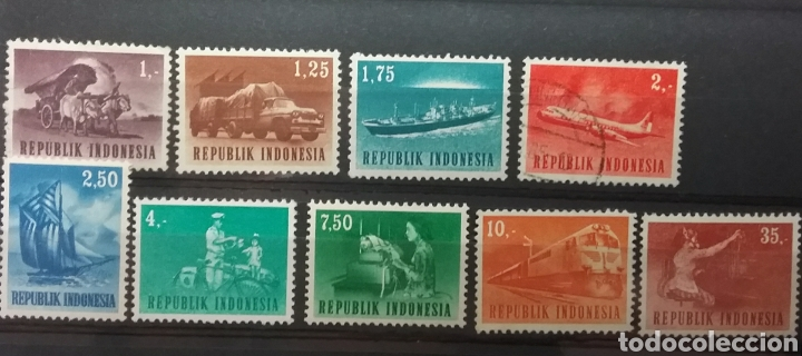 SELLOS DE INDONESIA 1964 (Sellos - Extranjero - Asia - Indonesia)