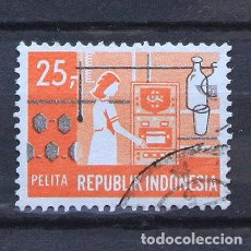 Sellos: INDONESIA 1969 ~ USADO. Lote 172011753