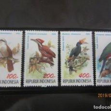 Sellos: INDONESIA 1992 - 4 V. NUEVO. Lote 176893994