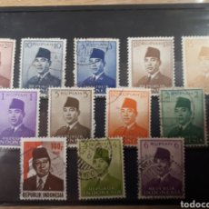 Sellos: SELLOS DE INDONESIA LOTE H12. Lote 177749012