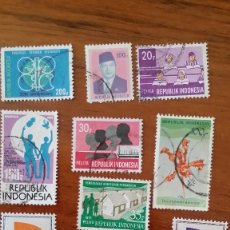 Sellos: ANTIGUOS SELLOS REPUBLIK INDONESIA Nº 38. Lote 177889979