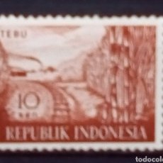 Francobolli: INDONÈSIA TRENES SELLO NUEVO. Lote 182584915