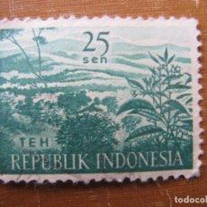 Sellos: -INDONESIA 1960, YVERT 219. Lote 184378652