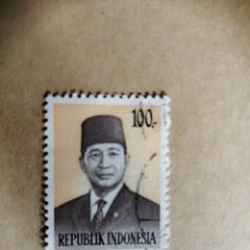 Sellos: INDONESIA - 100 - AÑO 1974. Lote 189892252