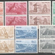 Sellos: INDONESIA 1961 TOURISM, BLOCK X 2, MNH AG.023. Lote 198272092