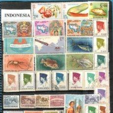 Sellos: LOTE DE SELLOS DE INDONESIA. Lote 201857667