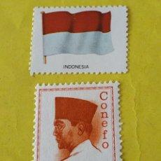 Sellos: INDONESIA (A7) - 1 SELLO CIRCULADO. Lote 204201291