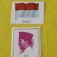 Sellos: INDONESIA (A8) - 1 SELLO CIRCULADO. Lote 204201436