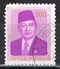 INDONESIA Nº 1060, EL PRESIDENTE SUHARTO, USADO (Sellos - Extranjero - Asia - Indonesia)