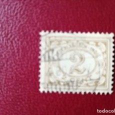 Sellos: INDIAS HOLANDESAS - INDONESIA - VALOR FACIAL 2 CENT - AÑO 1911 - NUMERAL - TAXA - CIFRAS. Lote 221979018
