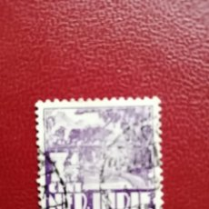 Sellos: INDIAS HOLANDESAS - INDONESIA - VALOR FACIAL 7 1/2 CENT - CAMPO DE ARROZ - AÑO 1939. Lote 221995936