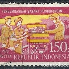 Selos: INDONESIA 1979 - 3º PLAN QUINQUENAL - USADO. Lote 222777981