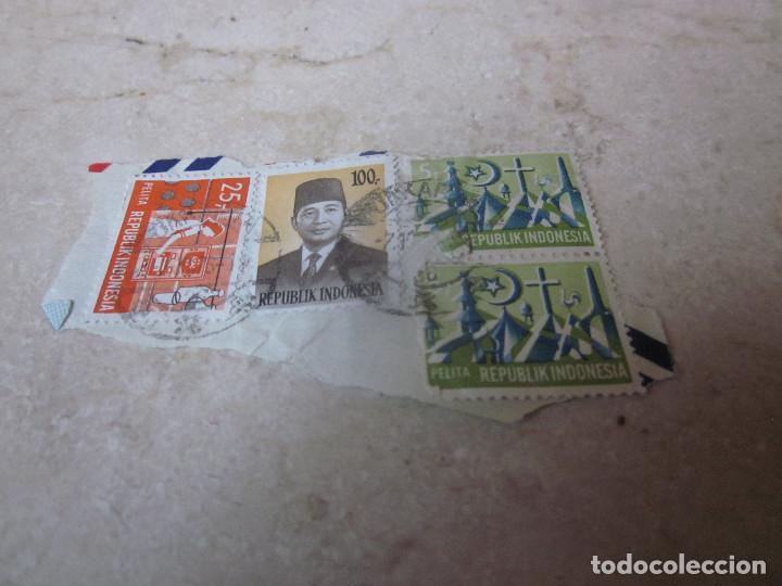 SELLOS USADOS INDONESIA (Sellos - Extranjero - Asia - Indonesia)