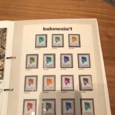 Sellos: SELLOS DEL MUNDO GRAN ENCICLOPEDIA DE LA FILATELIA EDICIÓN URBION INDONESIA/1 N'6. Lote 249446250