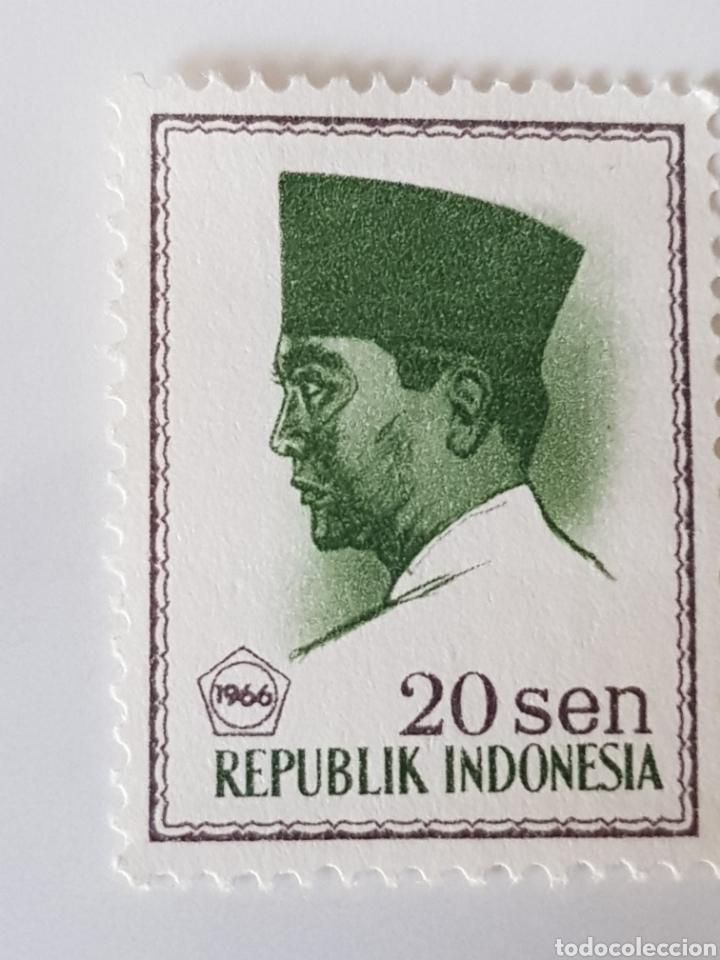 Sellos: República de Indonesia sellos 1966 - Foto 3 - 254570035