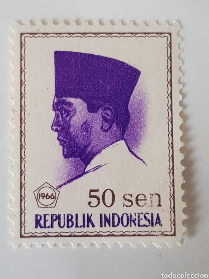 REPÚBLICA DE INDONESIA SELLOS 1966 (Sellos - Extranjero - Asia - Indonesia)