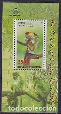 INDONESIA HB 134 DIA FLORA FAUNA (Sellos - Extranjero - Asia - Indonesia)