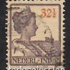 Sellos: LIQUIDACIÓN. INDIAS HOLANDESAS 1922, YVERT 139. REINA GUILLERMINA.- USADO.. Lote 262968185