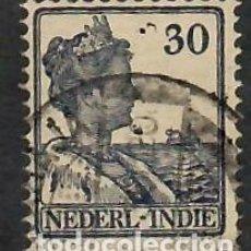 Sellos: LIQUIDACIÓN. INDIAS HOLANDESAS 1915, YVERT 114. REINA GUILLERMINA.- USADO.. Lote 262968425