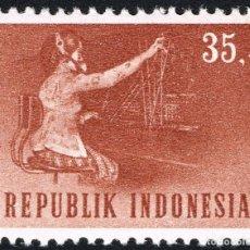 Sellos: INDONESIA 1964 SCOTT 637 SELLO ** TRANSPORTES Y COMUNICACIONES OPERADORA TELEFONICA MICHEL 449. Lote 270541098