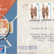 Sellos: CORREO AEREO: INDONESIA 1983. Lote 277115888