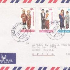 Sellos: CORREO AEREO: INDONESIA 1983. Lote 277117048