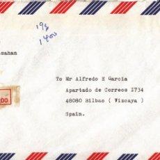 Sellos: CORREO AEREO: INDONESIA 1990. Lote 277214913