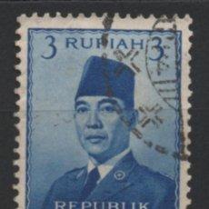 Sellos: INDONESIA 1951 SELLO USADO * LEER DESCRIPCION. Lote 278289173