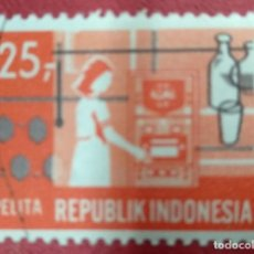 Selos: INDONESIA SELLO USADO. Lote 286572903