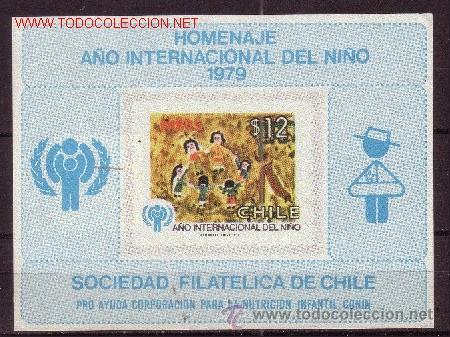 CHILE 526 HB*** - AÑO 1979 - AÑO INTERNACIONAL DEL NIÑO (Sellos - Temáticas - Infantil)
