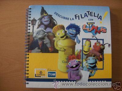 ALBUM DESCUBRE LA FILATELIA CON LOS LUNNIS SELLOS 2005 TVE (Sellos - Temáticas - Infantil)