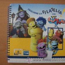 Sellos: ALBUM DESCUBRE LA FILATELIA CON LOS LUNNIS SELLOS 2005 TVE.. Lote 12885709