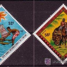 Sellos: WALLIS Y FUTUNA 232/33*** - AÑO 1979 - AÑO INTERNACIONAL DEL NIÑO. Lote 23051255