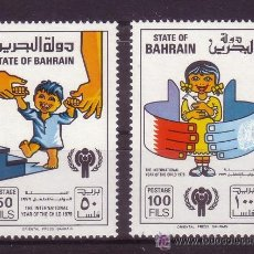 Sellos: BAHRAIN 283/84*** - AÑO 1979 - AÑO INTERNACIONAL DEL NIÑO. Lote 22305992