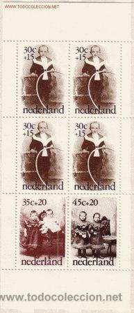 HOLANDA HB 13*** - AÑO 1974 - PRO INFANCIA - FOTOGRAFIAS ANTIGUAS DE NIÑOS (Sellos - Temáticas - Infantil)