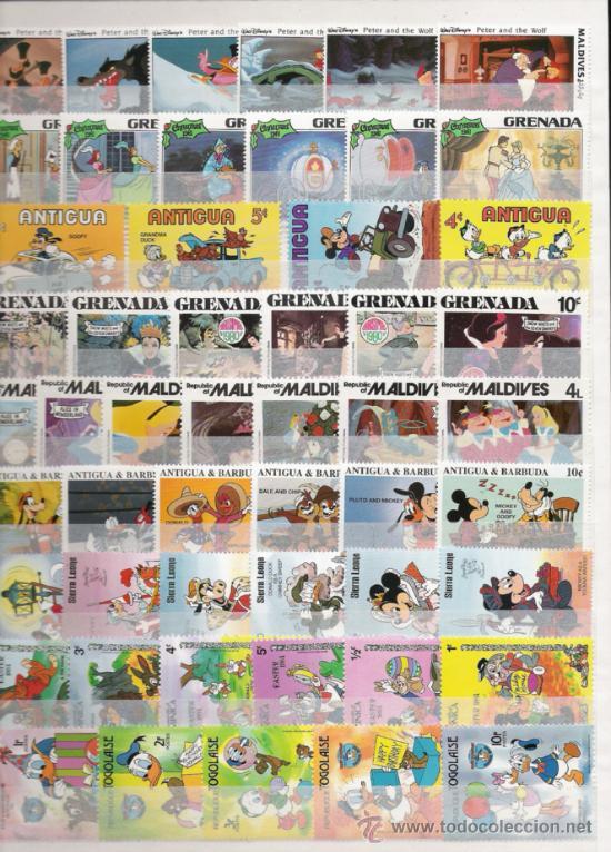 Sellos: PRECIOSA COLECCION DE WAL DYSNEY DE 43 SERIES NUEVAS 260 SELLOS - Foto 2 - 27349078