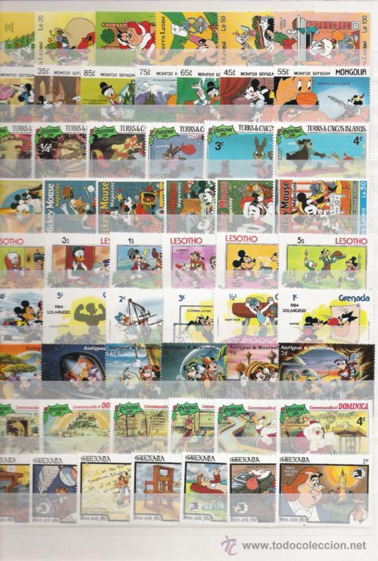 Sellos: PRECIOSA COLECCION DE WAL DYSNEY DE 43 SERIES NUEVAS 260 SELLOS - Foto 4 - 27349078