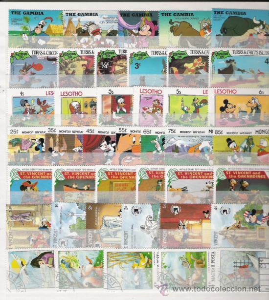 Sellos: PRECIOSA COLECCION DE WAL DYSNEY DE 43 SERIES NUEVAS 260 SELLOS - Foto 5 - 27349078