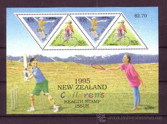 NUEVA ZELANDA HB 100*** - AÑO 1995 - PRO OBRAS PARA LA SALUD INFANTIL (Sellos - Temáticas - Infantil)