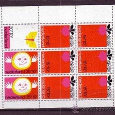 Sellos: HOLANDA HB 10* - AÑO 1971 - A BENEFICIO DE LA INFANCIA. Lote 26575942