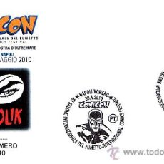 Sellos: COMICS - COMICOM 2010 - DIABOLIK. NAPOLI. Lote 22486449