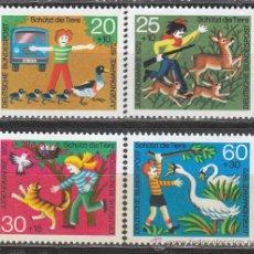 Sellos: ALEMANIA IVERT 560/3, PARA LA JUVENTUD, NUEVO. Lote 23405078