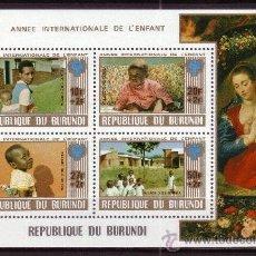 Sellos: BURUNDI HB 106A*** - AÑO 1979 - AÑO INTERNACIONAL DEL NIÑO. Lote 23540426